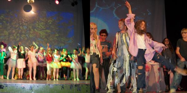 El Teatro fue la estrella en la fiesta del Primario