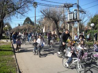 """Bicicleteada 2011: Vivenciar el significado de """"Compartir"""""""