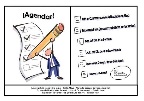 La agenda del primer cuatrimestre