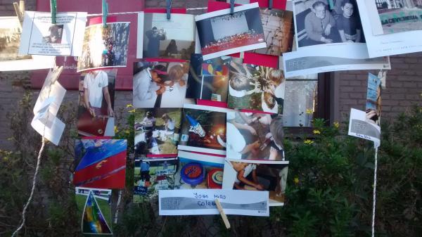 Joan Miró expuso sus fotos en «Pon tu Foto en la Calle»