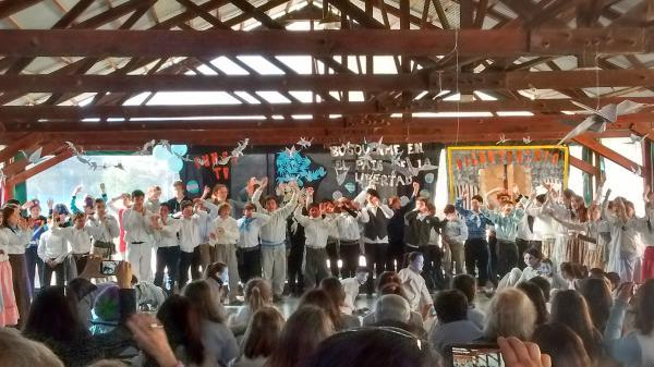 Joan Miró celebró el Bicentenario de nuestra Patria